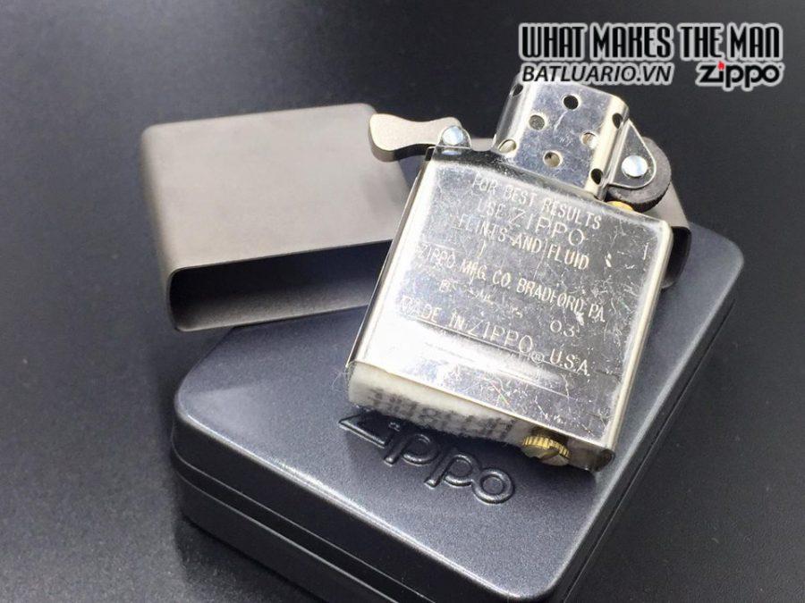 ZIPPO Solid Titanium – TI – 2003 1