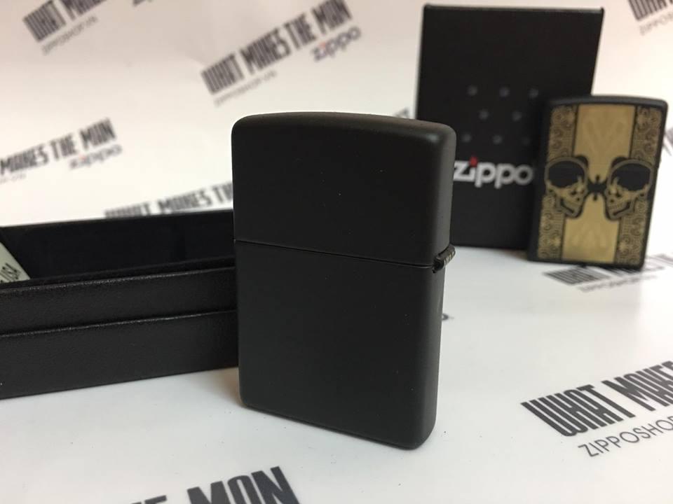 Zippo 29404 - Zippo Skulls Black Matte 3