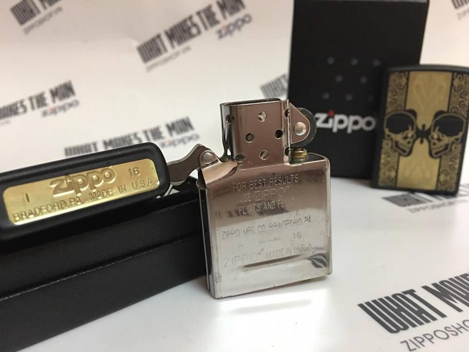 Zippo 29404 - Zippo Skulls Black Matte 5