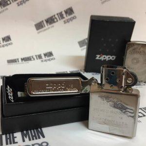 Zippo 29421 - Zippo Asian Floral Black Ice 5