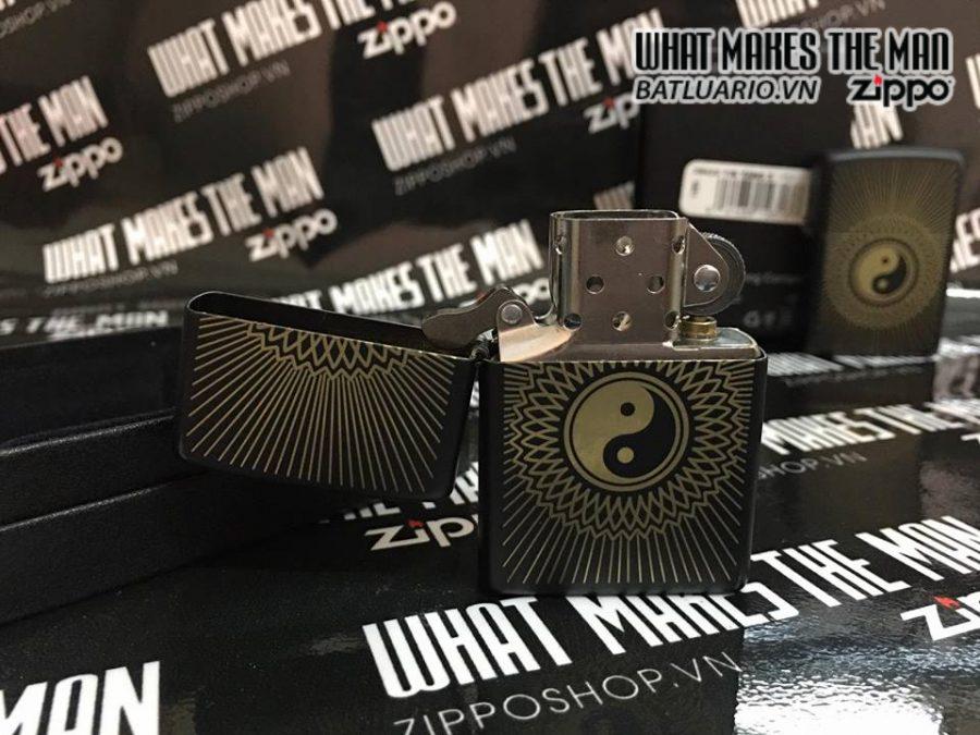Zippo 29423 – Zippo Yin Yang Black Matte 3