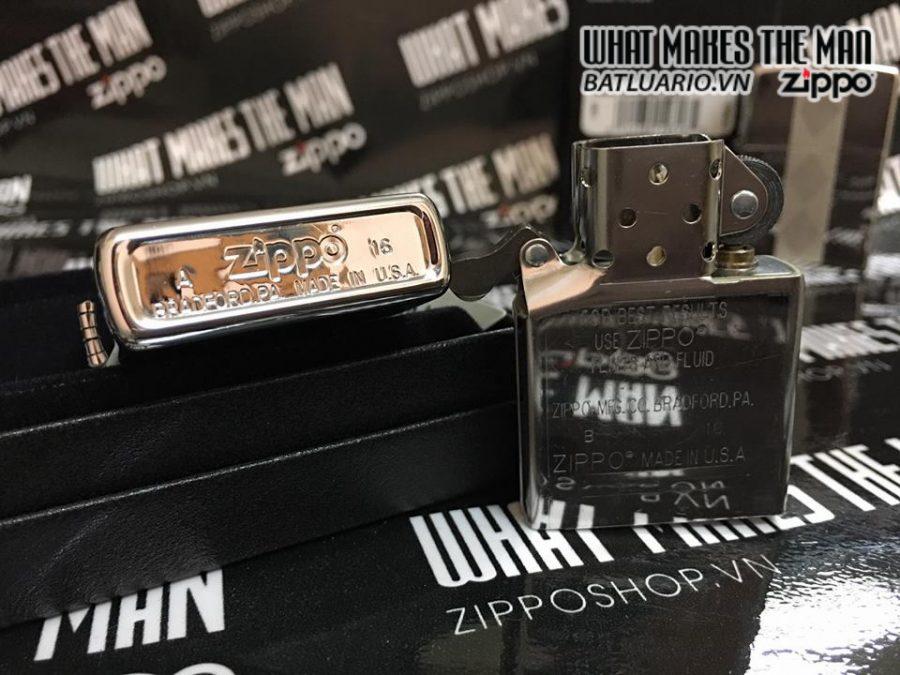 Zippo 29424 – Zippo Diamond Grill High Polish Chrome 3