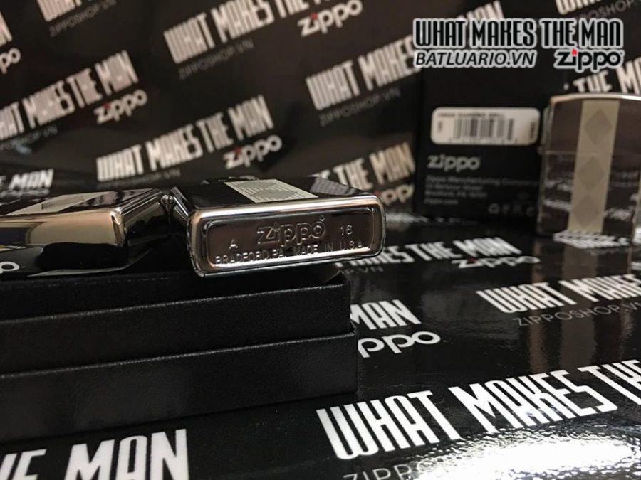 Zippo 29424 – Zippo Diamond Grill High Polish Chrome 5