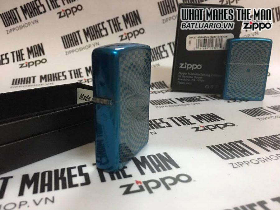Zippo 29427 – Zippo Minimalisum Design Cerulean-1