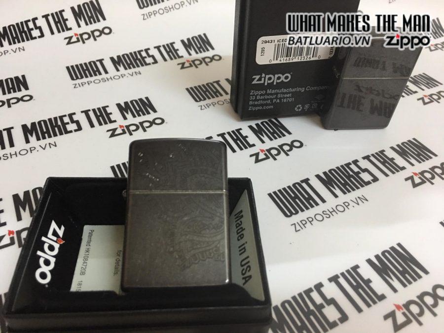 Zippo 29431 – Zippo Paisley Grey Dusk 3