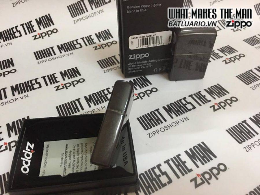 Zippo 29431 – Zippo Paisley Grey Dusk 1