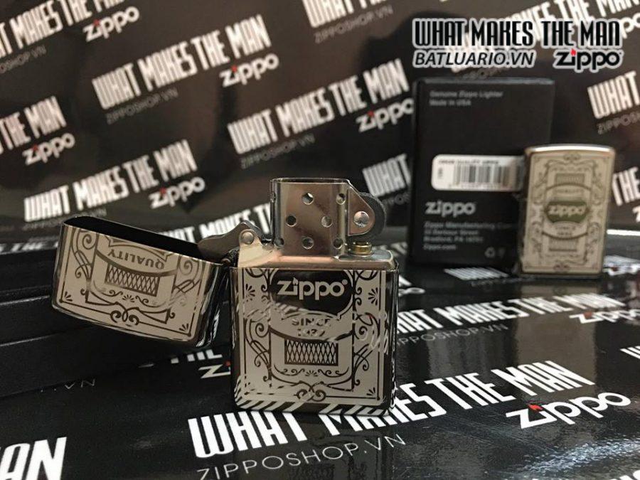 Zipp 29425 – Zippo Quality Zippo Black Ice 2