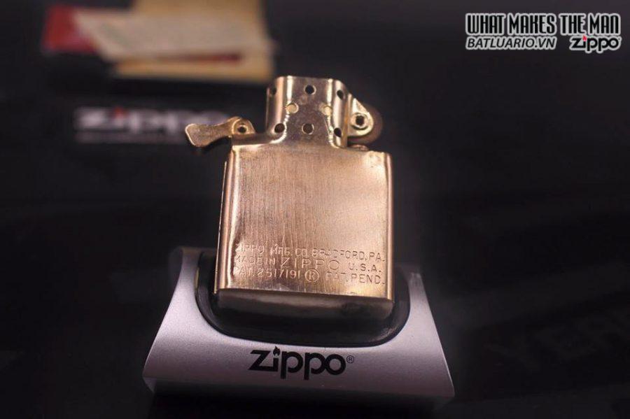 ZIPPO 10k GOLD FILLED 1950S 2