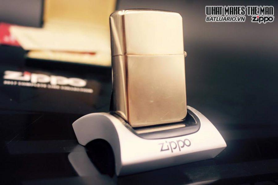 ZIPPO 10k GOLD FILLED 1950S 5