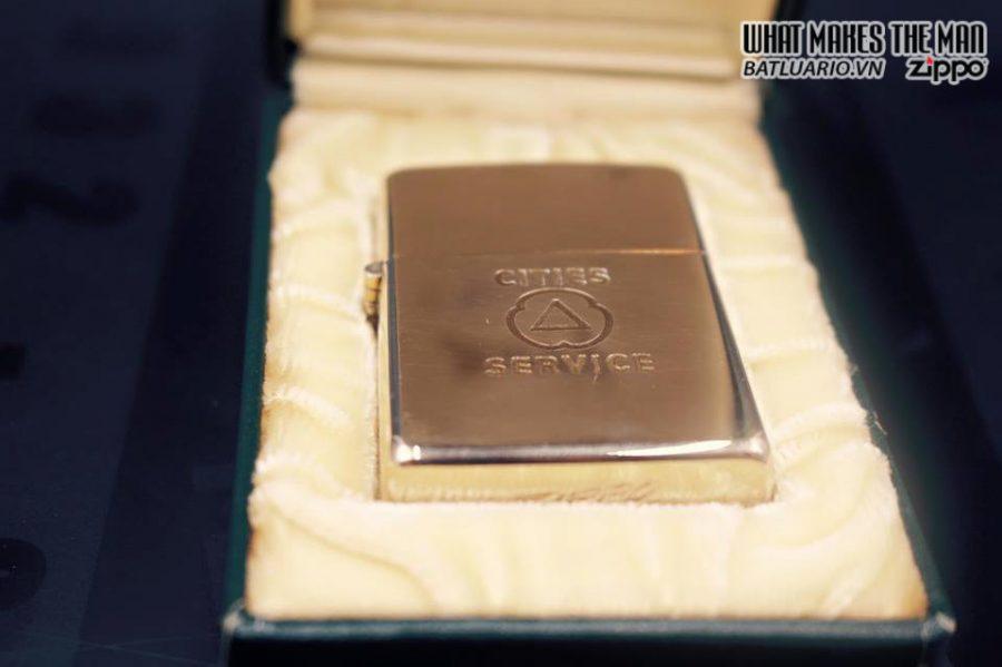 ZIPPO 10k GOLD FILLED 1950S 10