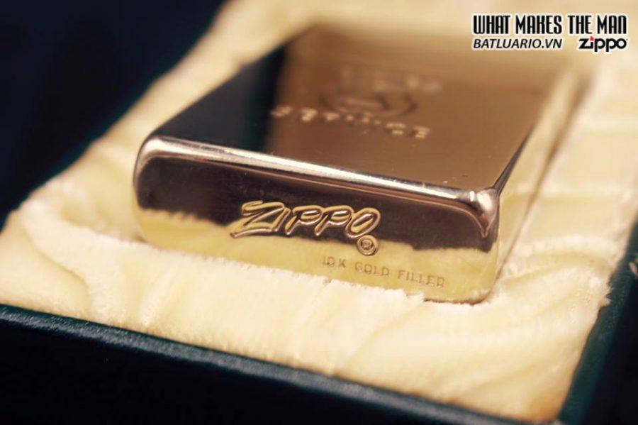 ZIPPO 10k GOLD FILLED 1950S 9