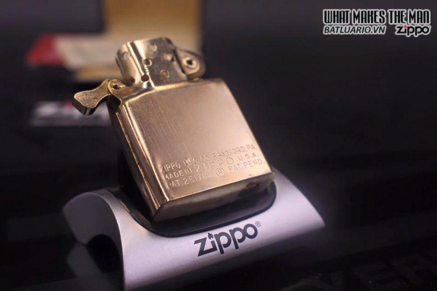ZIPPO 10k GOLD FILLED 1950S 3