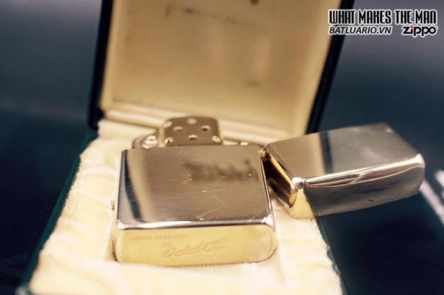ZIPPO 10k GOLD FILLED 1950S 8