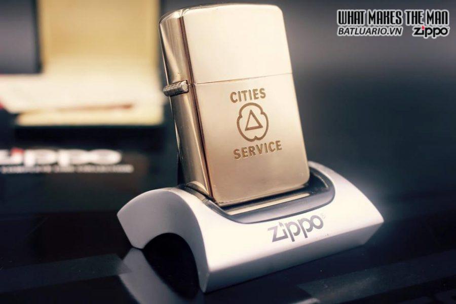 ZIPPO 10k GOLD FILLED 1950S 11