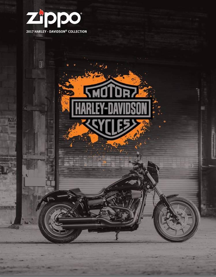 ZIPPO 2017 HARLEY-DAVIDSON® COLLECTION
