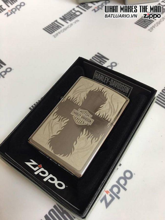 Zippo 29157 – Zippo Harley Davidson Street Chrome 8
