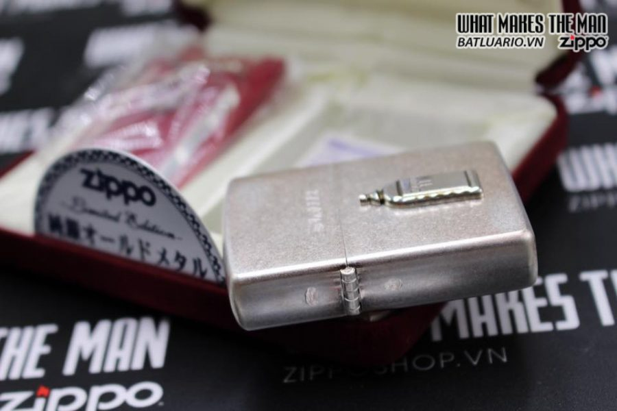 Zippo Atique silver 1999 xuất nhật – No Limited 312 7