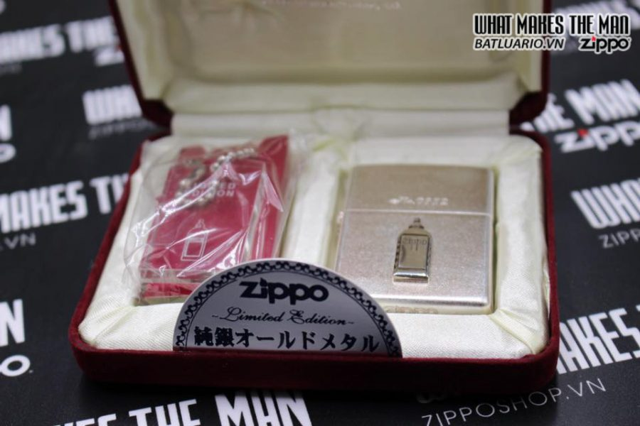 Zippo Atique silver 1999 xuất nhật – No Limited 312 9