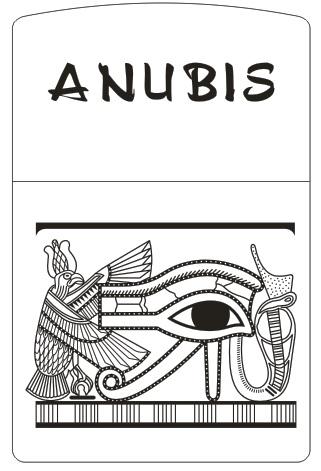 MẪU KHẮC ZIPPO 127 - THẦN ANUBIS AI CẬP