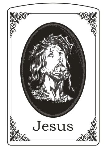 MẪU KHẮC ZIPPO 62 - JESUS