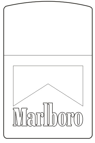 MẪU KHẮC ZIPPO 93 - MARLBORO
