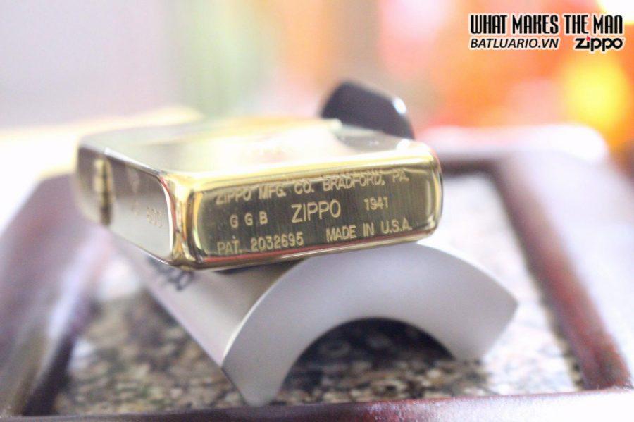 SIÊU PHẨM – ZIPPO GGB 1941 – SOLID GOLD 18K 2