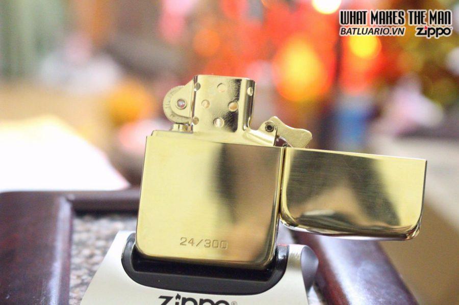SIÊU PHẨM – ZIPPO GGB 1941 – SOLID GOLD 18K 4
