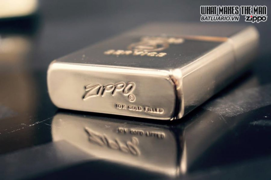 ZIPPO 10k GOLD FILLED 1950S 19