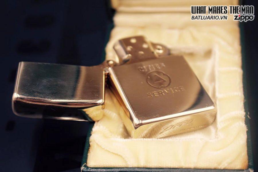 ZIPPO 10k GOLD FILLED 1950S