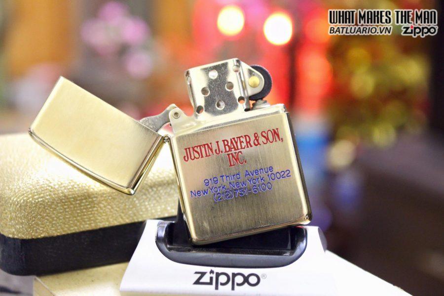 Zippo 10k Gold Filled 1970s 4