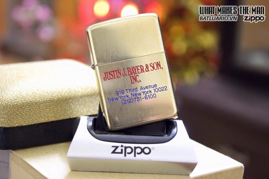 Zippo 10k Gold Filled 1970s 3