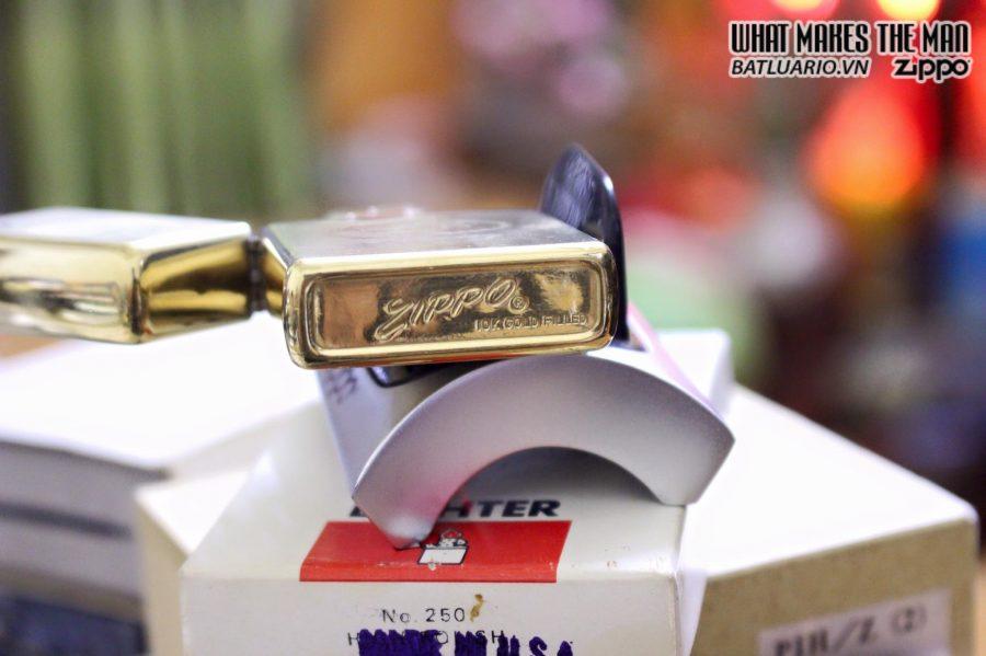 Zippo 10k Gold Filled 1970s- 24