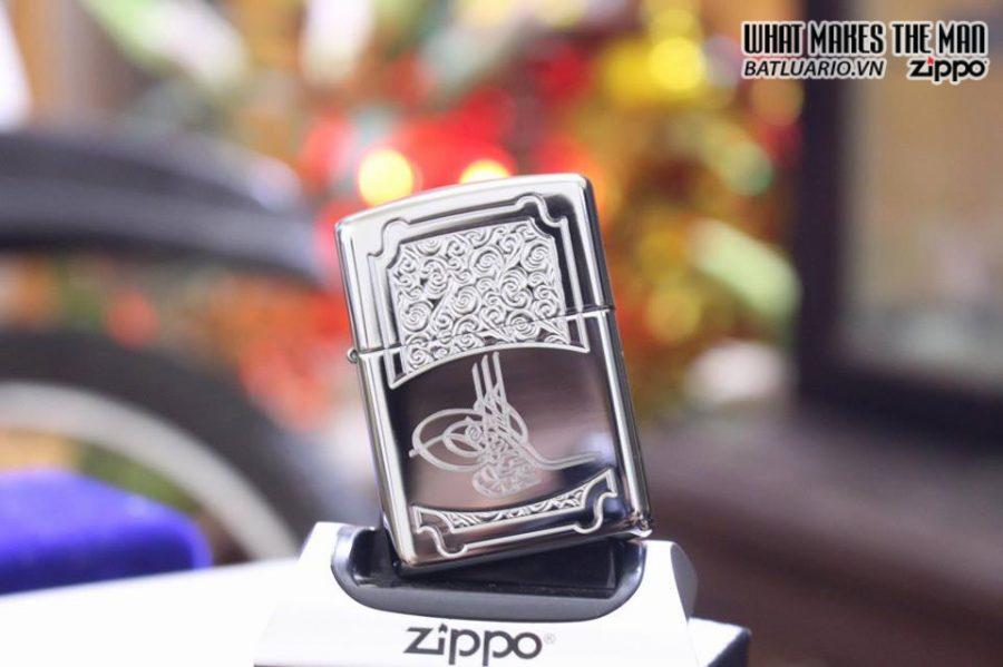 ZIPPO 167 TUGRA ARMOR HIGH POLISH CHROME 2