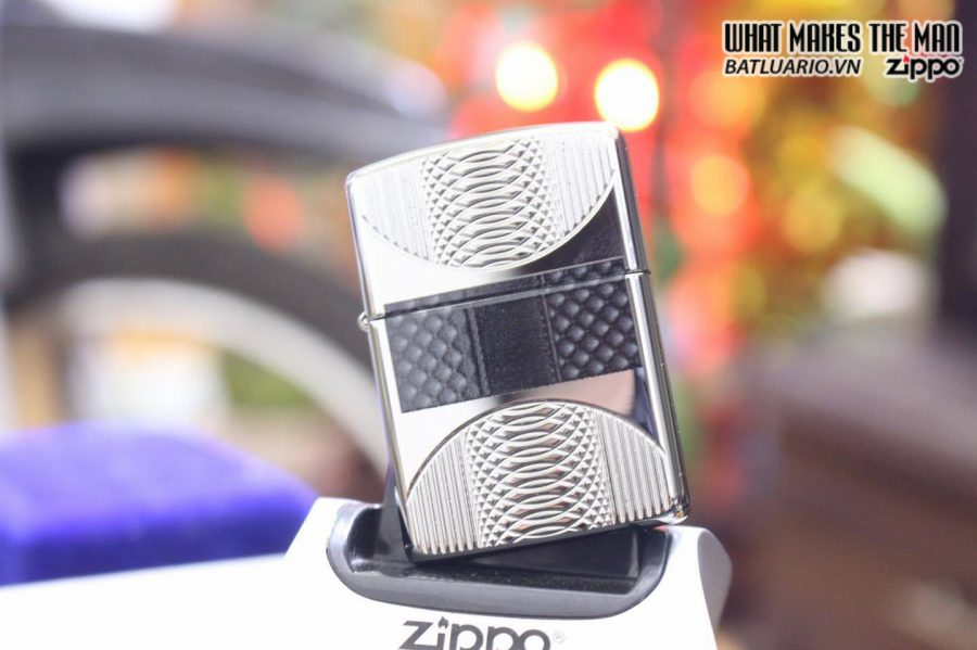ZIPPO 167 COILS & COLOR HIGH POLISH CHROME 5