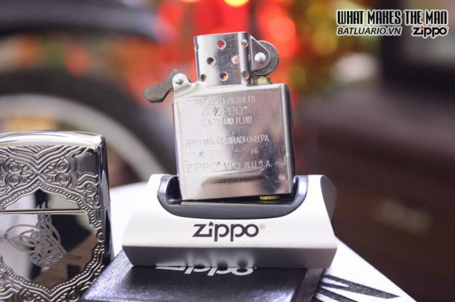 ZIPPO 167 TUGRA ARMOR HIGH POLISH CHROME 5