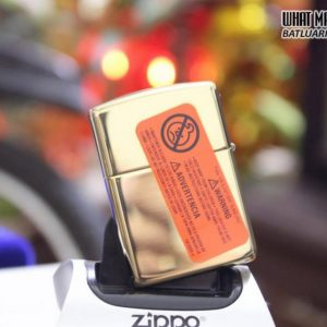 ZIPPO 169 DUTY HONOR COUNTRY ARMOR HIGH POLISH BRASS 3