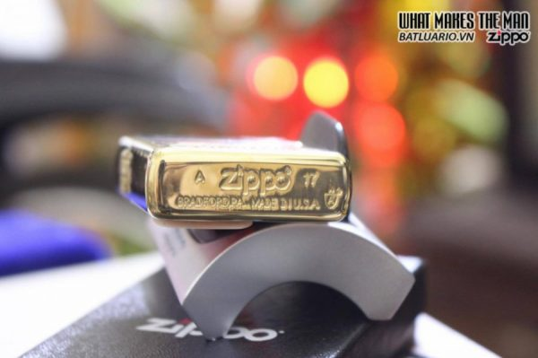 ZIPPO 169 DUTY HONOR COUNTRY ARMOR HIGH POLISH BRASS 1