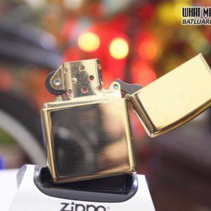 ZIPPO 169 LINE ARMOR HIGH POLISH BRASS 5
