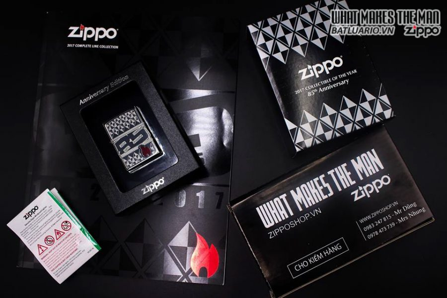 ZIPPO 29442 – ZIPPO 85TH ANNIVERSARY COLLECTIBLE OF THE YEAR 2017 – COTY 2017 5