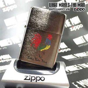 ZIPPO KHẮC DẬU 14 – ZIPPO 200.DAU14