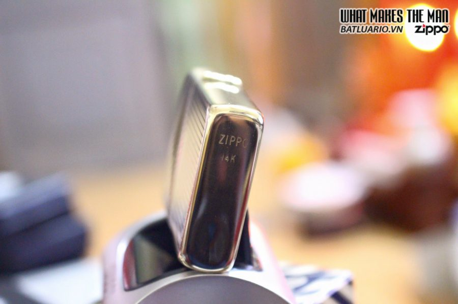 ZIPPO SOLID GOLD 14KT 8