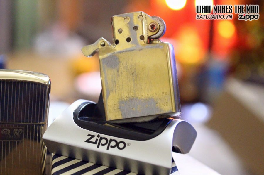 ZIPPO SOLID GOLD 14KT 1