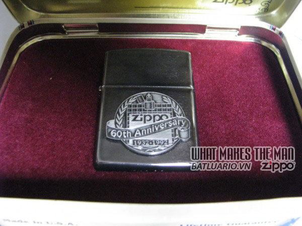 ZIPPO COTY 1992 - Zippo's 60th Anniversary 3