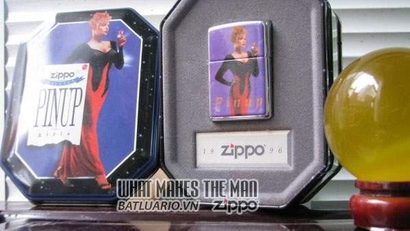 ZIPPO COTY 1996 - Zippo Salutes Pinup Girls 1