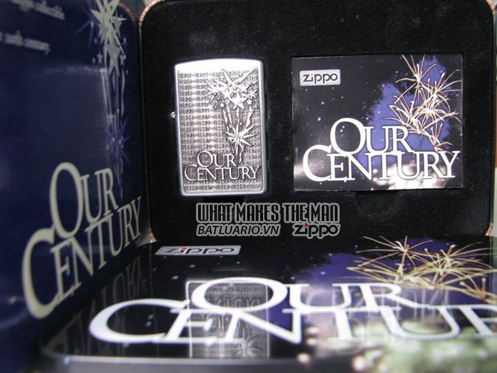 ZIPPO COTY 1999 - Zippo One World One-Future Our Century Companion Piece 2