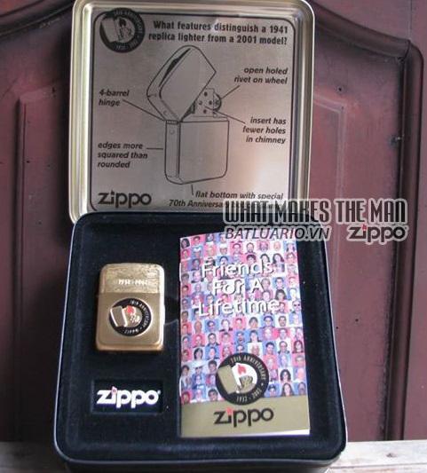 ZIPPO COTY 2002 - Zippo's 70th Anniversary 2