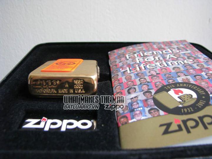 ZIPPO COTY 2002 - Zippo's 70th Anniversary 4