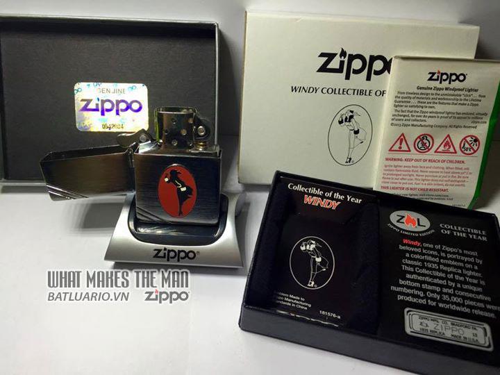 ZIPPO COTY 2013 - Zippo Coty 2013 Windy Girl 2