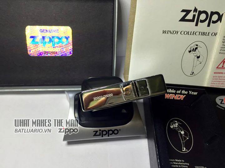 ZIPPO COTY 2013 - Zippo Coty 2013 Windy Girl 3