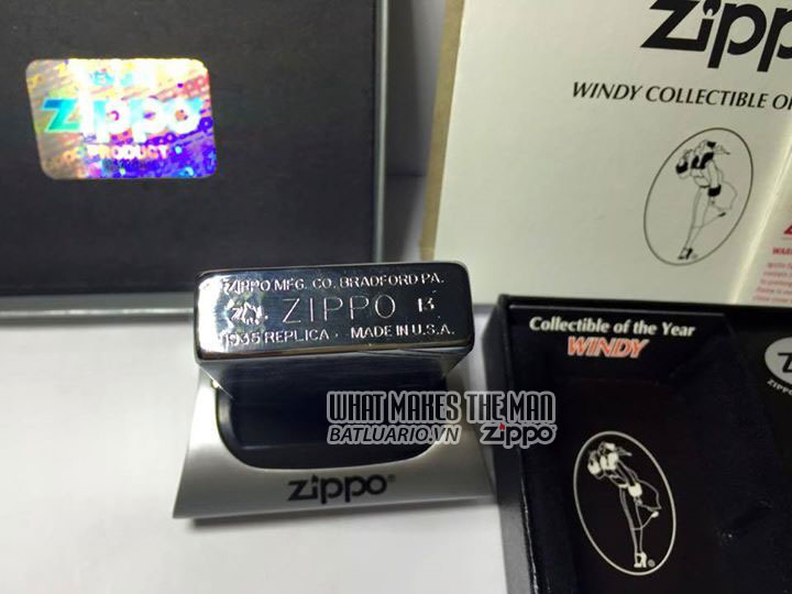 ZIPPO COTY 2013 - Zippo Coty 2013 Windy Girl 4